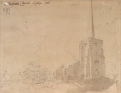 Rotherfield church, Sussex, 1785